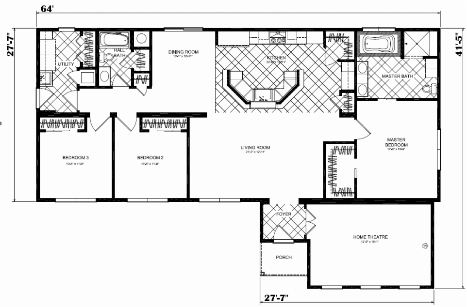 Modular home floor plans western pa for Western homes floor plans
