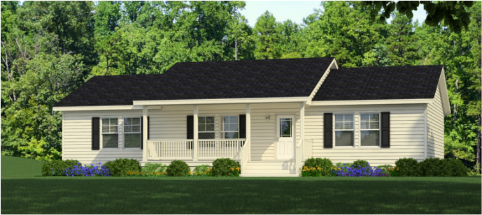 The Noble is A Special Value Ranch Style Modular Home that Brings Single-Story Living to A Whole New Level  - Beckley, WV