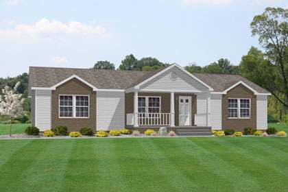 Ranch Style Modular Floor Plans - The Freeport Optimizes Usable Space and Energy Consumption of Your Home - Lewisburg, WV