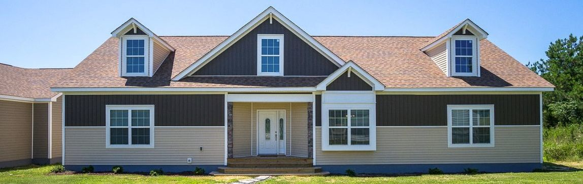 Large Traditional Cape Cod Style Home: The Stanley Cape Modular Home - Greensboro, NC