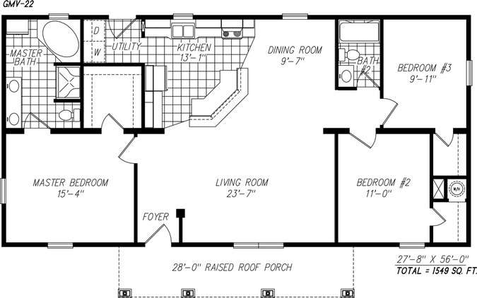 The ashwood modular home one of our most popular modular for Best single floor house plans
