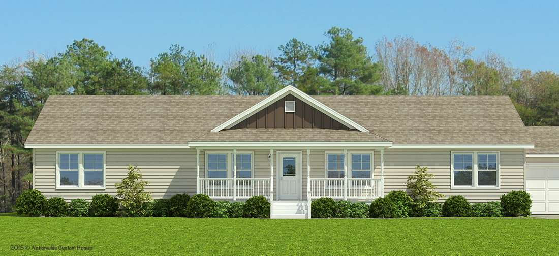 Ashwood Ranch Style Floor Plan for A Modular Home that Takes Single Story Living to A Whole New Level - Charlotte, NC