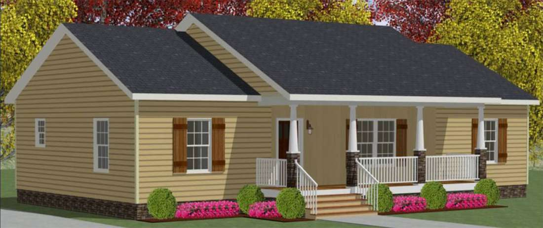 The Ashwood Modular Home– One of Our Most Popular Modular Floor Plans in North Carolina