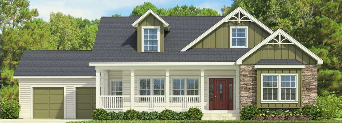 The Buckeye II Cape Cod Style Modular Home has Modern Features that Appeal to Today's Market - Charlotte, NC