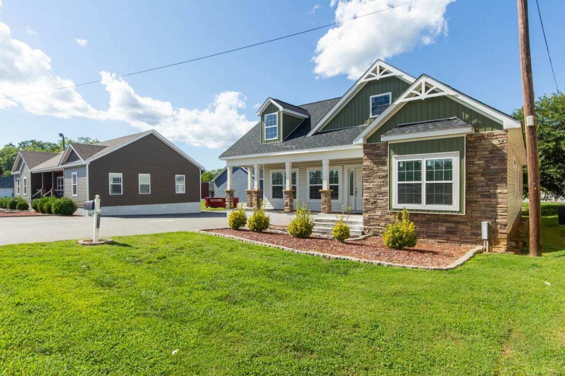 Silver Point Homes - Buckeye II Cape Cod Modular Home