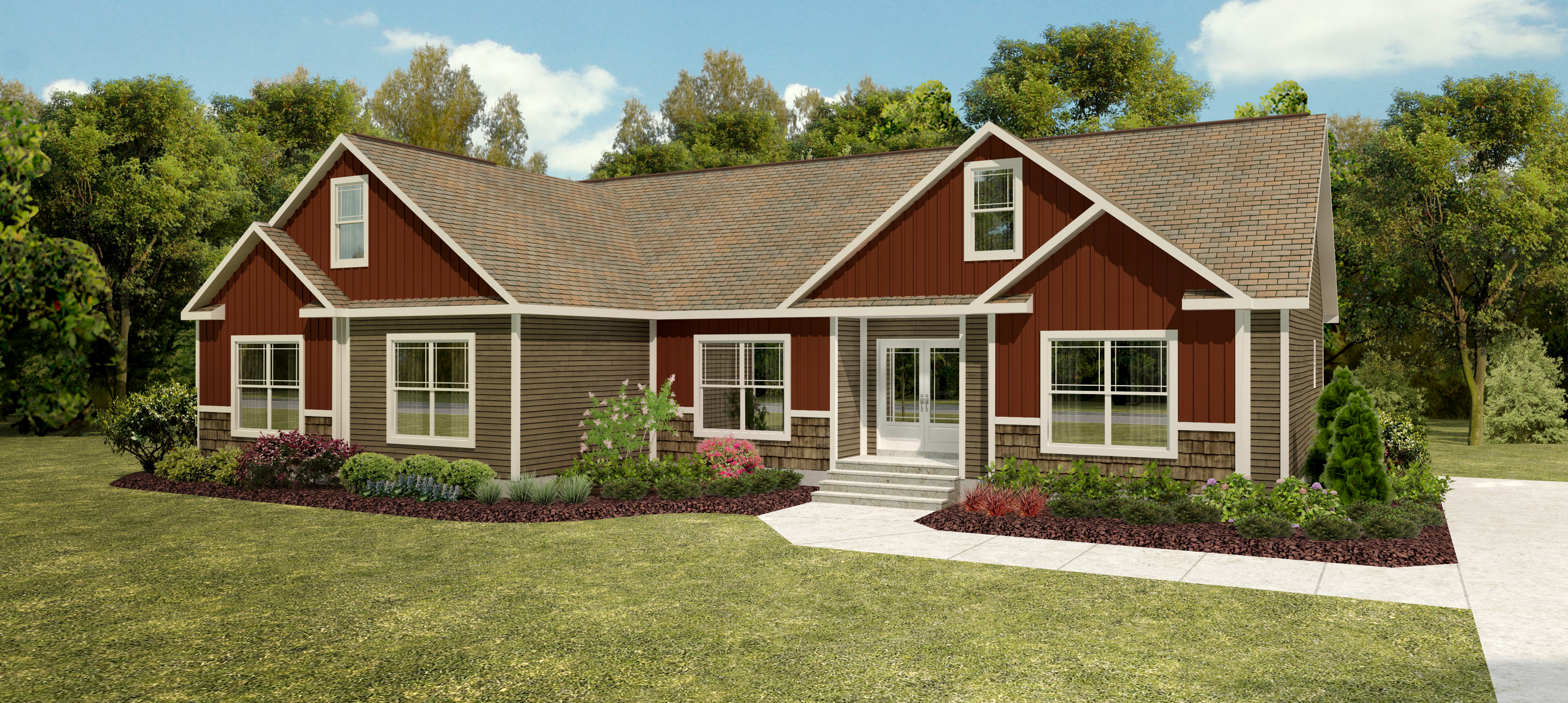 2350 Sq  Ft  Modular Home Floor Plan - Grandview Modular Home Style