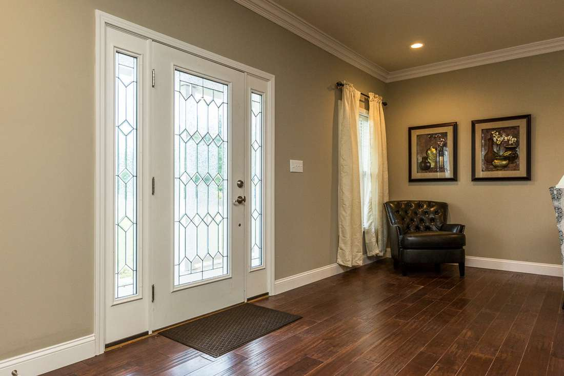 front and interior doors complement your modular home