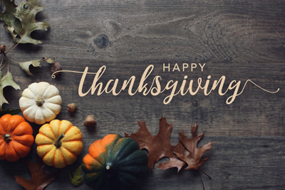 Happy Thanksgiving From Silver Point Homes