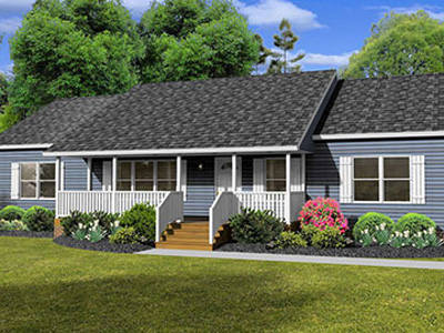 Silverpoint Homes - Mitchell Max Ranch style