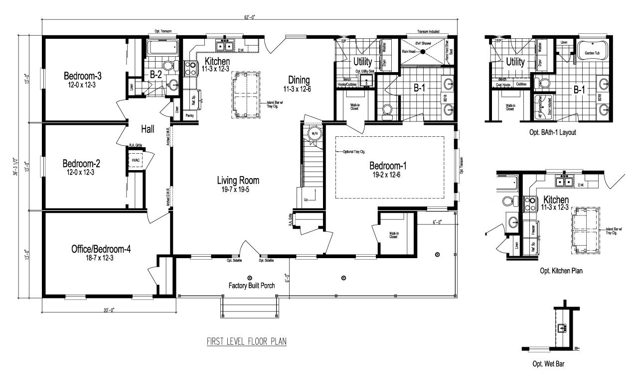 Modular Floor Plans Lincolnton NC, Charlotte, Greensboro, Greenville on